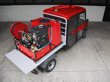 Custom firefighting vehicles Alke'