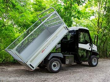 ALKE' Electric Utility Vehicles - Accesories and Optionals - Cargo area