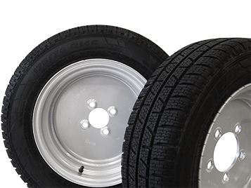 Road winter tyres