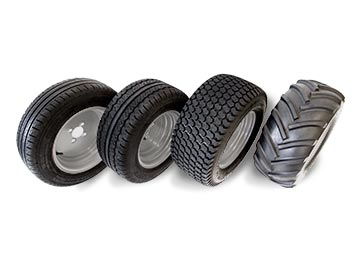 ALKE' Electric Utility Vehicles - Accesories and Optionals - Tyres