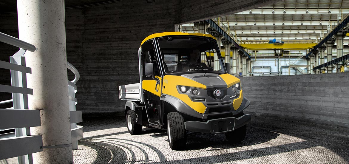 Industrial electric Vehicles - Type-approved and ideal for intensive use