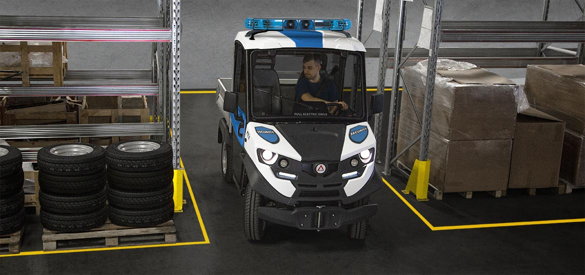 Electric security vehicles Alke'