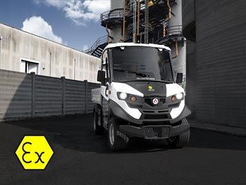 explosion-proof ATEX vehicle for security use