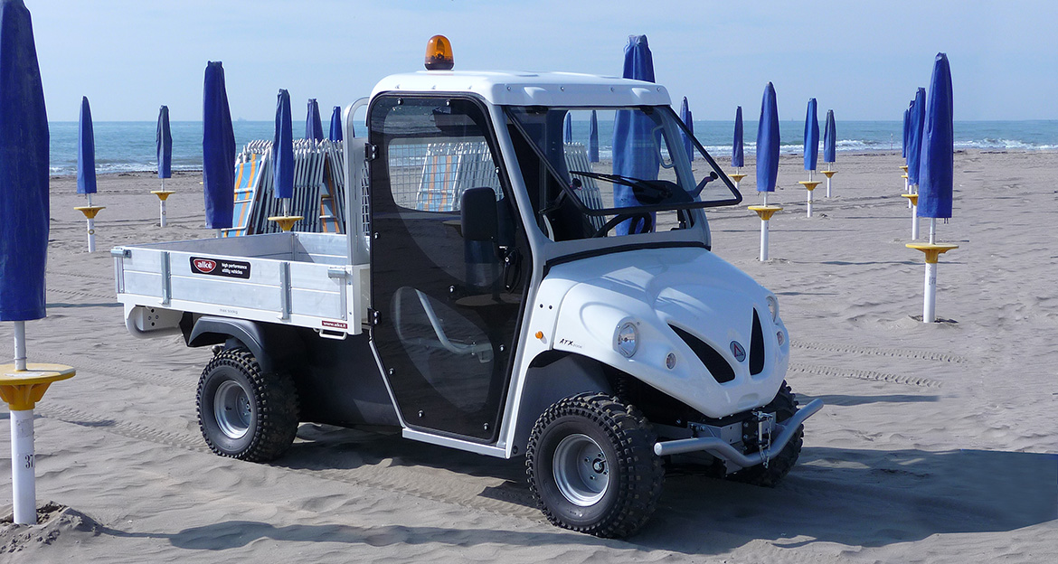 electric vehicle for beach
