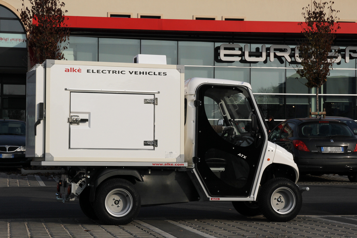 Refrigerated Electric Vans