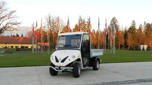 Alke' electric pickup in Slovenian government headquarters