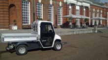 Alke' vehicles at Kensington Palace in London