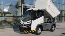 Discover how work waste transport electric vehicles with bin lifting system