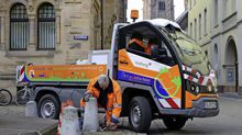 maintenance and street cleaning vehicles