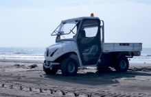 Beach electric truck