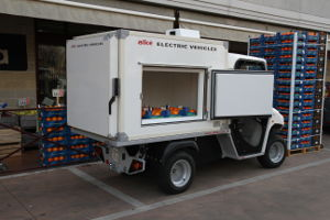 refrigerated electric van