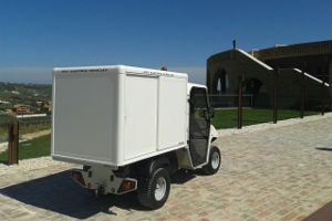 thermally insulated electric box van