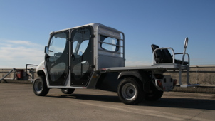 6 seat electric utility vehicles
