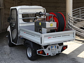 electric fireproof vehicles