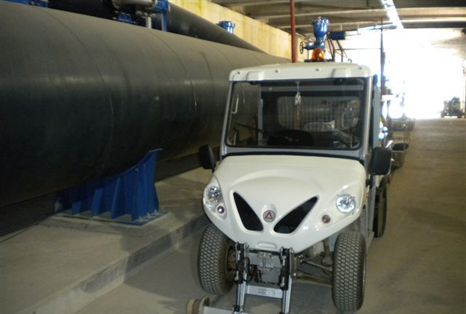 explosion proof vehicles for tunnels
