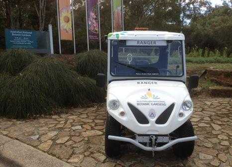 Vozidla Alké V současné době není Australské národní botanické zahrady