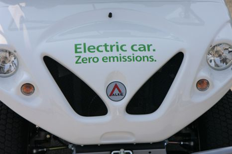 Electric car - Zero emissions
