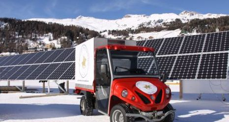 Ecological electric vehicles at low temperatures