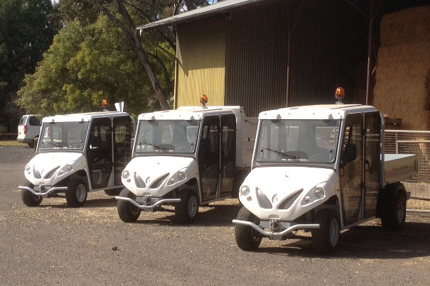 alke zero emissions vehicles for zoo