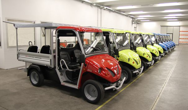 electric company vehicles for oil&gas plants