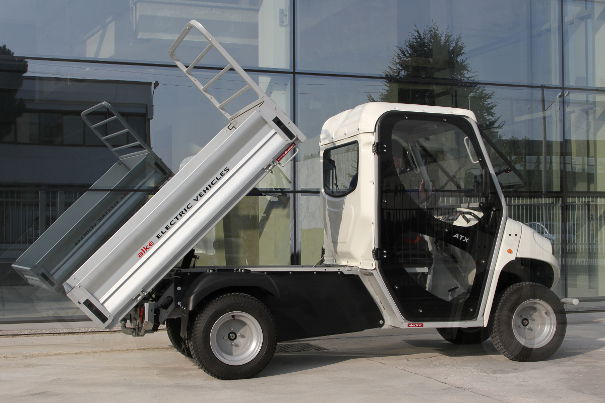Electric tipper vans