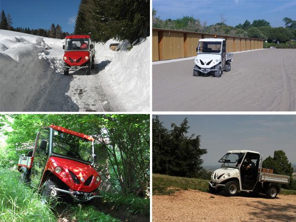 Electric utility vehicles for all seasons