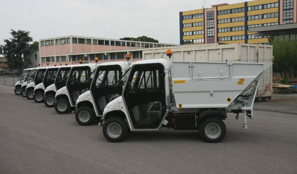 waste collection vehicles fleet