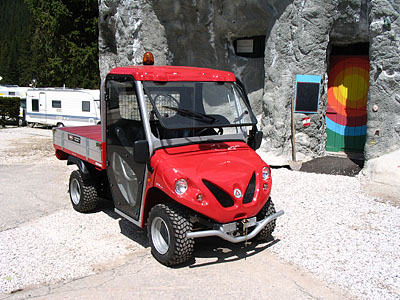 utility vehicles for tourism alke